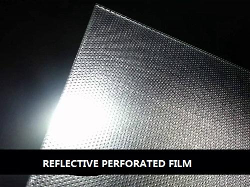 Reflective One Way Vision Film Sticker Vinyl Adhesive