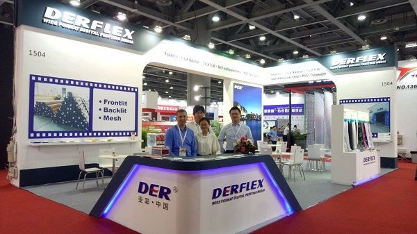 DERFLEX solvent banner supply