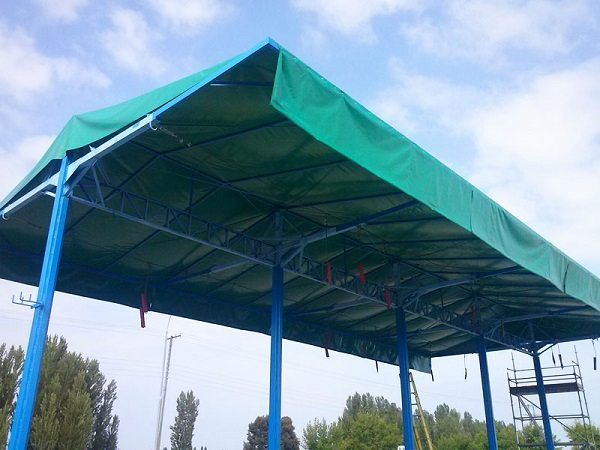 industrial tent tarpaulins & Section responsible for the manufacture of industrial tents ...