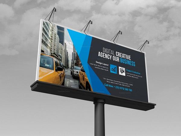 billboard banner material