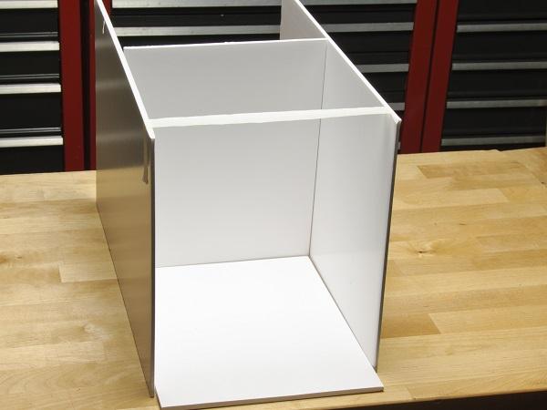 PVC foam box material