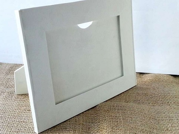 Commercial decorative frame material
