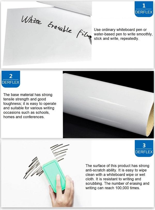whiteboard film roll
