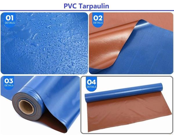 2 colors tarpaulin