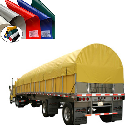 Wearable PVC coated tarpaulin fabric for truck cover