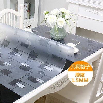Modern Design Crystal Plastic Mat for Tablecloth Protection